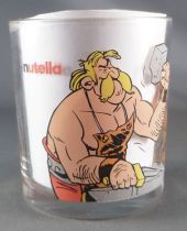 Asterix - Nutella Glass - Astérix & Fulliautomatix