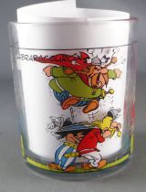 Asterix - Nutella Glass 1995  - Majestix and his holders