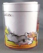 Asterix - Nutella Glass 1996  - Astérix with hunting for wild boars