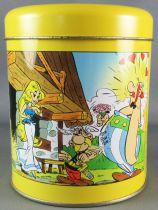 Asterix - Pandorino Cookies Tin Round box 40 Years 1999 - Panacea