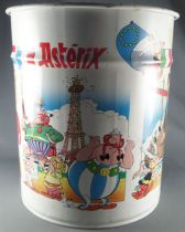 Asterix - Pierre Henry Tin paper garbage (Rond) - Asterix & CleopaterObelix around the world