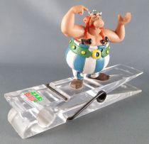Asterix - Pince à Papier Bureau Figurine Pvc Comics Spain Parc Asterix  - Obelix