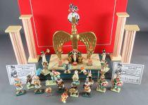 Asterix - Pixi - La Salle du Trône de Cléopâtre ref 2321 & 2322 Boites Certif