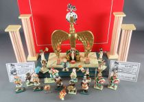 Asterix - Pixi Metal Figures - The Room of Cleopatra Throne ref 2321 & 2322