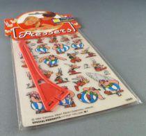 Asterix - Planche de Décalcos Transferts Nathan - Asterix & Obelix Neuve sous Sachet
