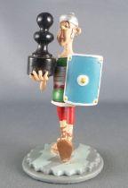 Asterix - Plastoy - Figurine Pièce Jeu d'échec N°6 - Légionnaire Olibrius Pion