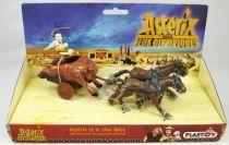 Asterix - Plastoy - Figurine PVC - Asterix et le char Ibère