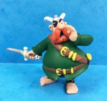 Asterix - Plastoy - Figurine PVC - Barbe-Rouge le Chef des Pirates