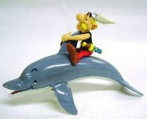 Asterix - Plastoy - PVC Figure - Asterix on a Dolphin