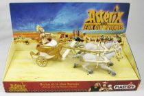 Asterix - Plastoy - PVC Figure - Brutus and the Roman chariot