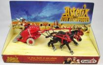 Asterix - Plastoy - PVC Figure - Gothic chariot and its pilot