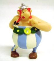 Asterix - Plastoy - PVC Figure - Obelix in Love