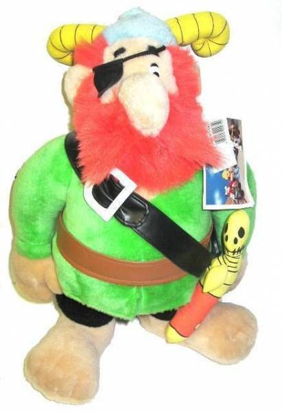 Asterix - Plush 1994 - Pirate\'s chief (mint)