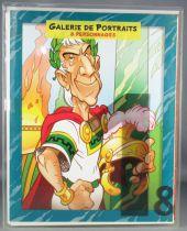 Asterix - Porfolio N°1 Galerie de Portraits 8 Planches Couleurs - Hachette Albert René 2007
