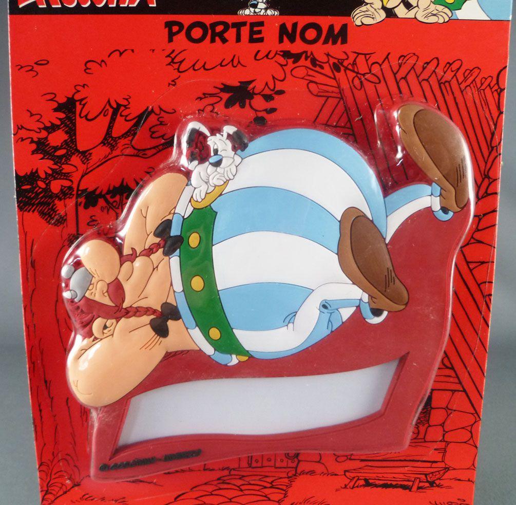 Asterix - Porte Nom pour Porte de Chambre - Obelix Neuf en Blister