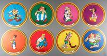 Asterix - Portraits Vache qui rit Series 3 The Chieftain\'s Shield - Complete Set 8 Pieces