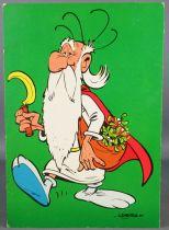 Asterix - Postal Card 1967 Iglo Advertising -  Getafix