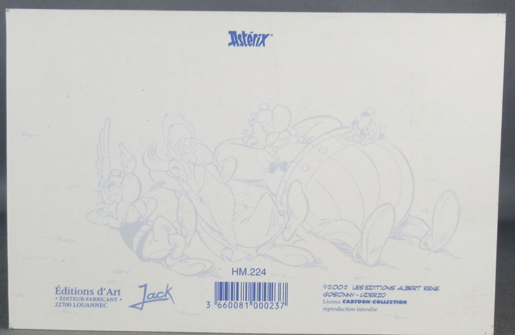 Asterix - Postal Card 2002 Editions d\'Art Albert René Goscinny Uderzo -  HM224 What we do in Britain