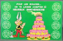Asterix - Postal Card 2002 Editions d\'Art Albert René Goscinny Uderzo -  HM230 Happy Birthday