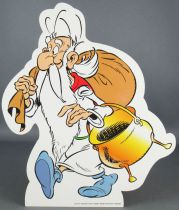 Asterix - Promotional Flat Plastic Figure Albert René 2010 - Getafix