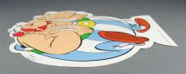Asterix - Promotional Flat Plastic Figure Albert René 2010 - Obelix