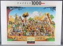 Asterix - Puzzle 1000 pièces Nathan - Photo de famille Neuf Cellophanée