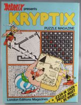 Asterix - Puzzle Magazine Kriptix N°2 1982 - Mint Condition