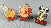 Asterix - Série Complète 3 Pins Total - Astérix Obélix Idéfix