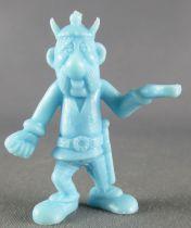 Asterix - Uni Lever (Malabar/Motta) 1974-84 - Monochromic Figure - Right Side Carrier (Light Blue)