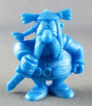 Asterix - Uni Lever (Malabar/Motta) 1980-84 - Figurine Monochrome - Abraracourcix (Bleu)