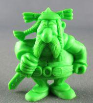 Asterix - Uni Lever (Malabar/Motta) 1980-84 - Figurine Monochrome - Abraracourcix (Vert Clair)