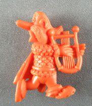 Asterix - Uni Lever (Malabar/Motta) 1980-84 - Figurine Monochrome - Assurancetourix (Orange)