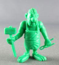 Asterix - Uni Lever (Malabar/Motta) 1980-84 - Figurine Monochrome - Cetautomatix (Vert)