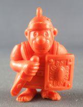 Asterix - Uni Lever (Malabar/Motta) 1980-84 - Figurine Monochrome - Légionnaire avec Glaive (Orange)