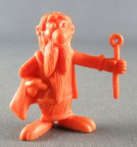 Asterix - Uni Lever (Malabar/Motta) 1980-84 - Figurine Monochrome - Panoramix (Orange)