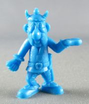 Asterix - Uni Lever (Malabar/Motta) 1980-84 - Figurine Monochrome - Porteur de Droite (Bleu)