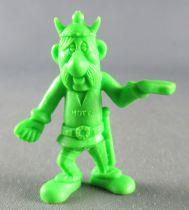Asterix - Uni Lever (Malabar/Motta) 1980-84 - Figurine Monochrome - Porteur de Droite (Vert Clair)