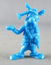 Asterix - Uni Lever (Malabar/Motta) 1980-84 - Figurine Monochrome - Porteur de Gauche (Bleu)