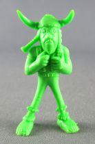 Asterix - Uni Lever (Malabar/Motta) 1980-84 - Monochromic Figure -  Soupalognon y Crouton (Light Green)