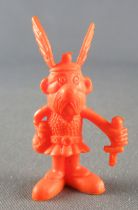 Asterix - Uni Lever (Malabar/Motta) 1980-84 - Monochromic Figure - Asterix posing its sword (Orange)