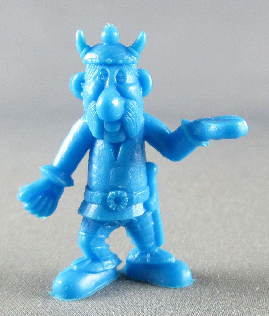 Asterix - Uni Lever (Malabar/Motta) 1980-84 - Monochromic Figure - Right Carrier (Blue)