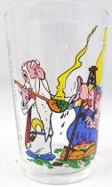 Asterix - Verre Amora 1968 - Obélix essaye de goûter la potion magique