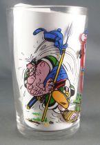 Asterix - Verre Amora Série sans ©  - Obélix effraye un légionnaire en criant