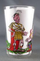 Asterix - Verre AmoraSérie avec © - Asterix face à César