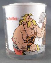 Asterix - Verre Nutella - Astérix & Cetautomatix