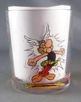 Asterix - Verre Nutella 1995  - Astérix Assurancetourix & Barbe-Rouge