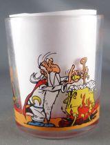 Asterix - Verre Nutella 1995  - Astérix Obelix Panoramix Idefix