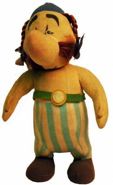 Asterix - Vintage stuffed doll Obelix
