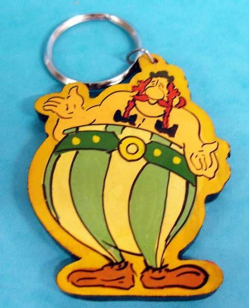 Asterix - Wood Key Chain - Obelix