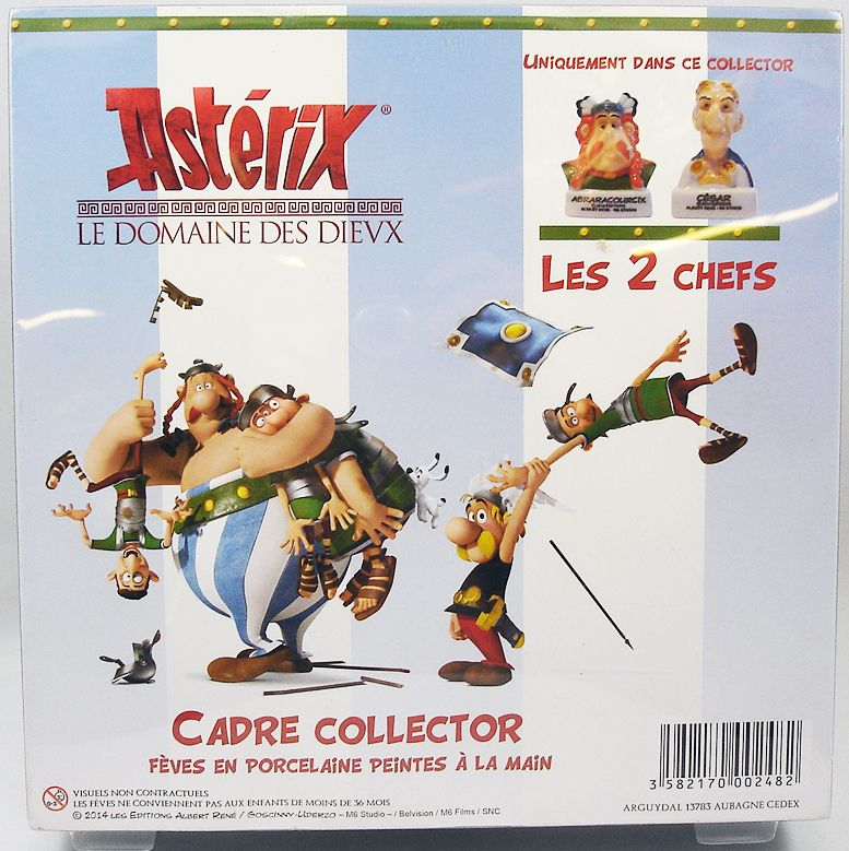 Asterix and the Domain of the Gods - Boxed gift-set of 12 porcelain bean-figures